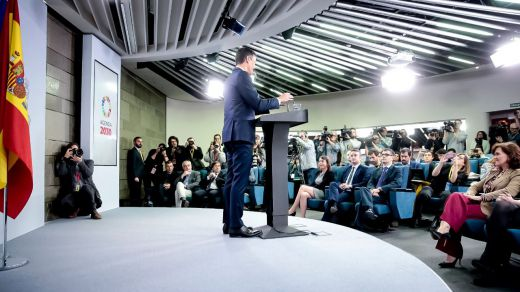 Sánchez se carga una tradición de hace 15 años: la rueda de prensa de balance del año