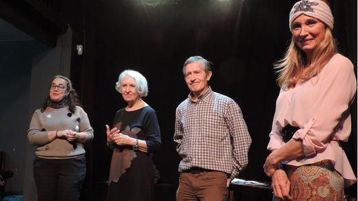 Gran éxito del nuevo grupo de actores 'El Desguace' en su debut en el Teatro La Encina