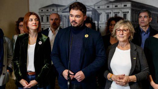 Las negociaciones entre PSOE y ERC siguen encalladas tras una reunión este viernes