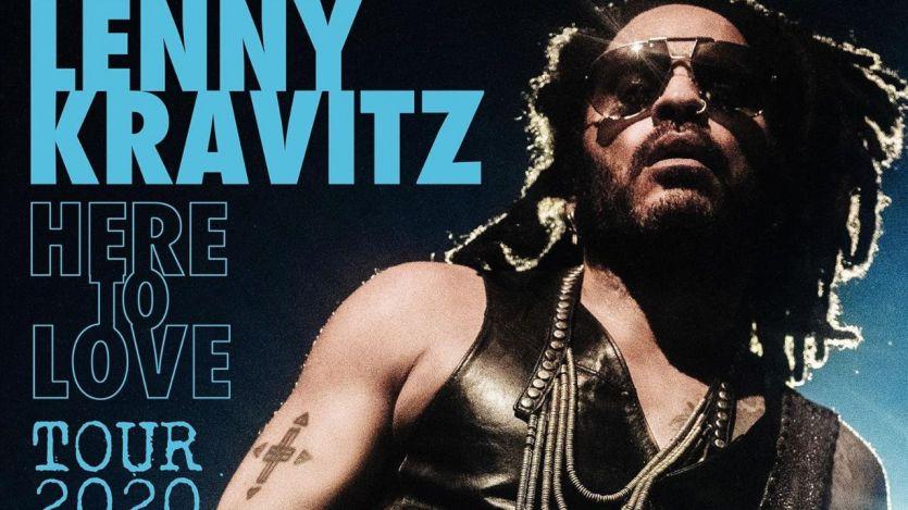 Lenny Kravitz pasará por Madrid en su nueva gira mundial: 'Here to Love Tour 2020'