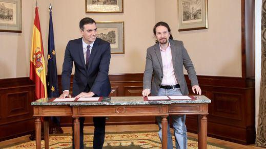 PROGRAMA: El PSOE se 'podemiza' más de lo que se modera Unidas Podemos