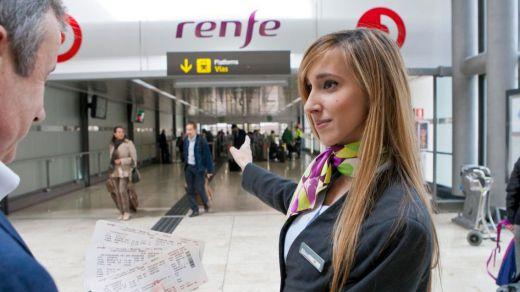Renfe garantiza la venta de billetes en todas las estaciones de tren pese al cierre de taquillas