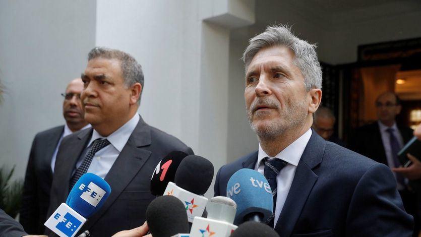 Marlaska sale al paso de la polémica en torno a la Guardia Civil en Navarra
