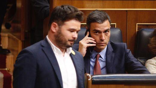 El texto íntegro del acuerdo alcanzado entre el PSOE y ERC