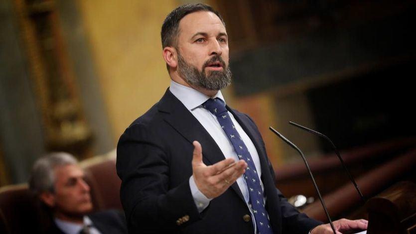 Abascal exigió la detención de Torra y denunció la 'traición' de Sánchez al Estado