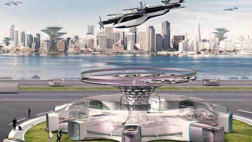El futuro ya está aquí: taxis voladores como en la película 'Blade Runner'