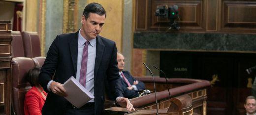 Sánchez citó a Azaña en su último discurso antes de la investidura y el Congreso explotó