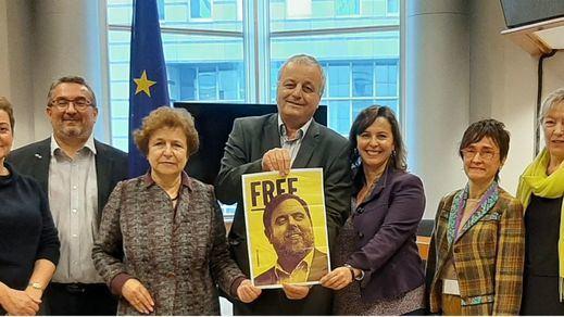 Junqueras, elegido vicepresidente del grupo de los Verdes en el Parlamento Europeo