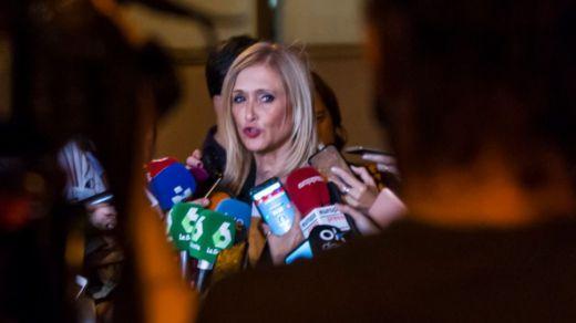 Cristina Cifuentes suena como concursante del reality 'Supervivientes'