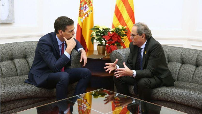 Moncloa y Generalitat inician ya los primeros contactos para citar a Sánchez y a Torra