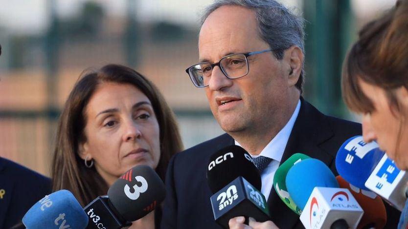 El Supremo no suspende la inhabiltación de la Junta Electoral a Torra, quien debería dejar el cargo de president