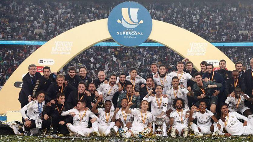El Real Madrid, campeón de la exótica Supercopa en Arabia