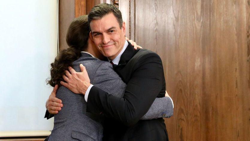 ¿A qué cantidad de los españoles que votaron el 10-N representa este controvertido Gobierno de coalición?