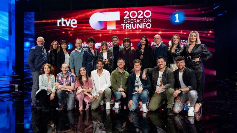 Los 16 concursantes que entran en la Academia de 'Operación Triunfo 2020'