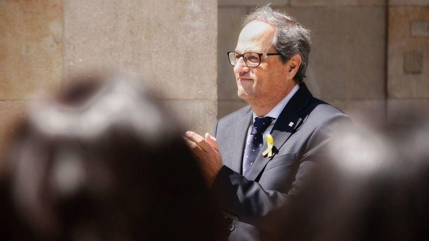 Torra reclama a Sánchez que materialice la desjudialización del procés