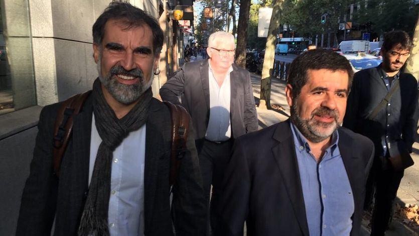Los Jordis, Sànchez y Cuixart, tendrán en breve un primer permiso para salir de prisión