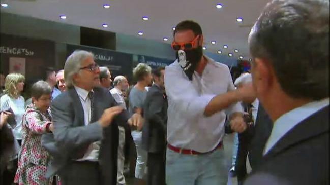 El Tribunal Constitucional ampara a los asaltantes del Centro Cultural Blanquerna