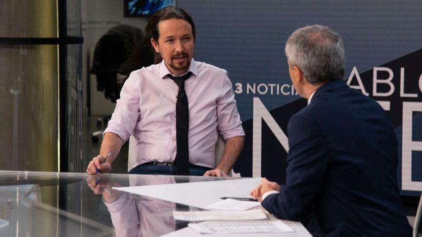 Otra entrevista de Iglesias: el vicepresidente se traga el sapo de respaldar a Dolores Delgado