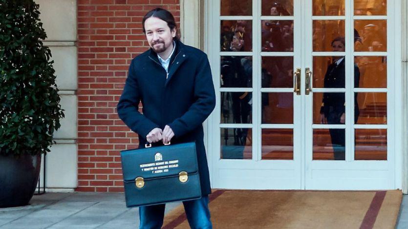 Aseguran que Pablo Iglesias llevó en el Consejo de Ministros un abrigo de Zara, la firma de Amancio Ortega