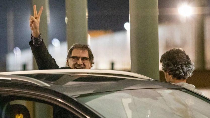 Jordi Cuixart, primer preso del procés catalán que sale de la cárcel tras obtener un permiso