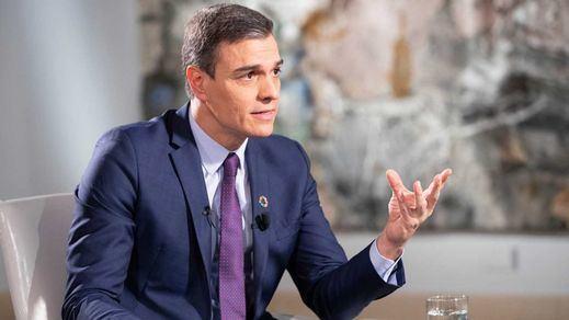 Los 5 anuncios clave en la entrevista de Sánchez en TVE: Torra, Delgado, funcionarios, Presupuestos y RTVE