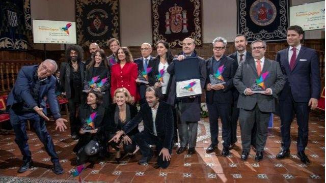 Brillante ceremonia de entrega de los prestigiosos Premios Cygnus