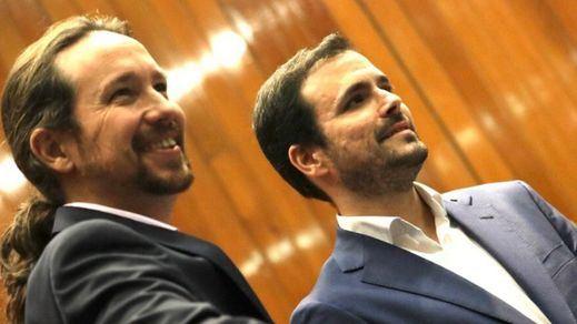 Pablo Iglesias y Garzón se tragan otro sapo: aceptan a Juan Guaidó como presidente encargado de Venezuela