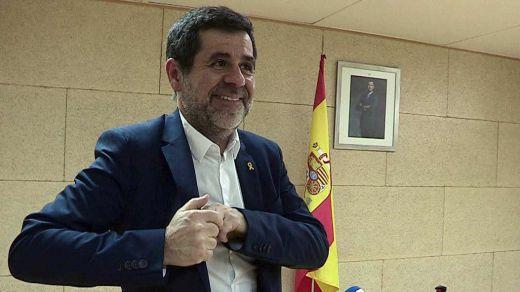 El Constitucional desestima el recurso de Jordi Sánchez por no haber podido asistir a su investidura