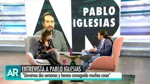 Ana Rosa Quintana incendia Twitter con su entrevista a Pablo Iglesias