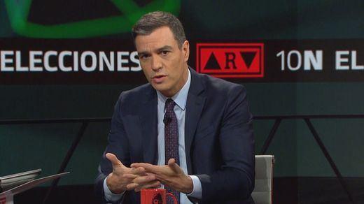 La Junta Electoral sanciona con 500 euros a Sánchez por una entrevista en La Moncloa...