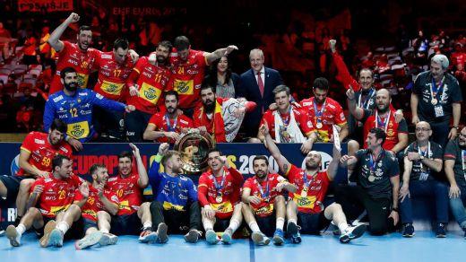 La selección de balonmano, los Hispanos, de nuevo campeona de Europa
