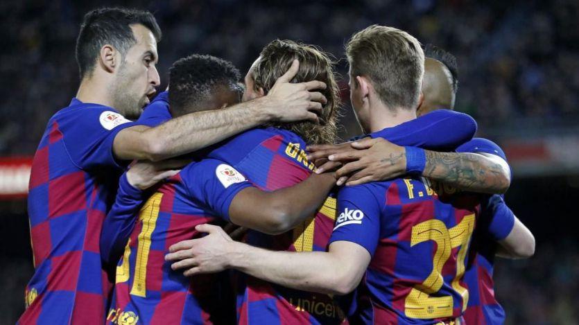 Copa del Rey: el Barça elimina al Leganés con goleada (5-0) y el Mirandés da la campanada ante el Sevilla (3-1)