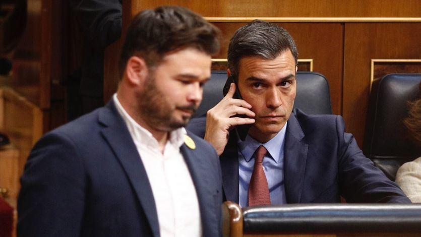 Rufián evita la guerra y deja pasar el 'error' de cancelar la mesa de diálogo por parte de Moncloa