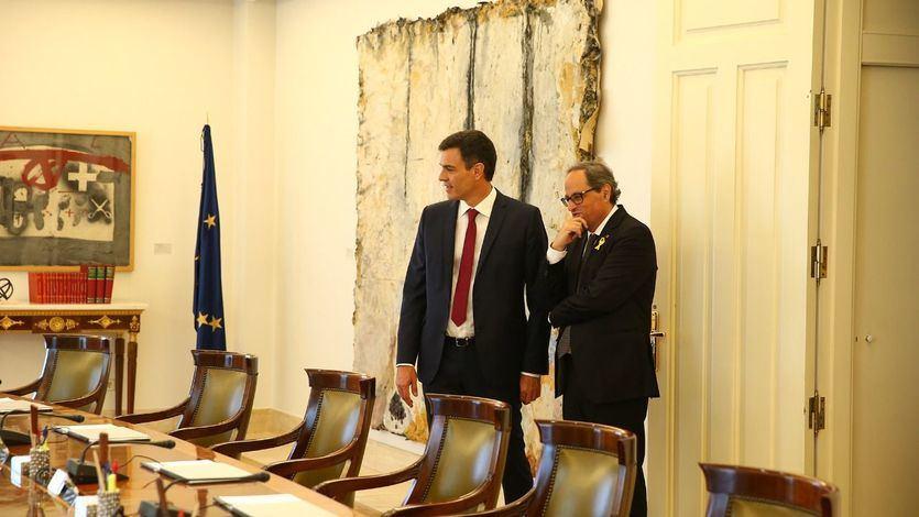 Empiezan a conocerse los detalles de la reunión que mantendrán Torra y Sánchez
