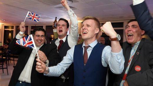 Un día histórico: Reino Unido logró y celebró su Brexit oficial la noche del viernes