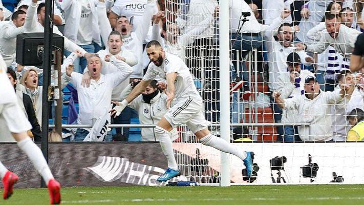El Madrid se lleva el derbi madrileño 1-0 y encadena 21 partidos sin perder