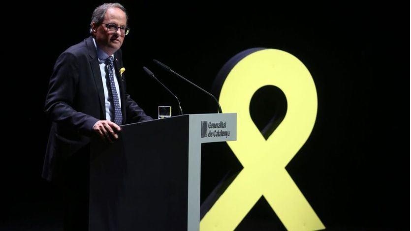 El Tribunal Superior de Cataluña abre una nueva causa por desobediencia contra Torra