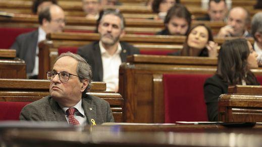 El Parlament recurrirá al Supremo la retirada del escaño a Torra