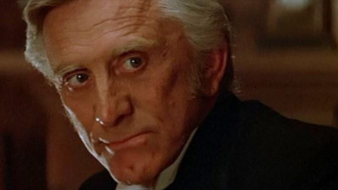 Kirk Douglas en 'El hombre de Río Nevado' (1982)