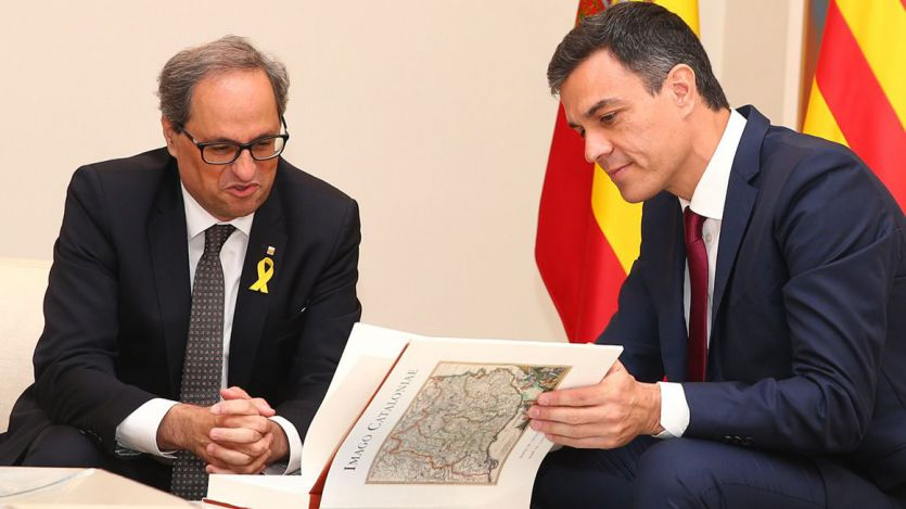 Todos pendientes de la reunión Sánchez-Torra, que podría abrir la mesa de diálogo