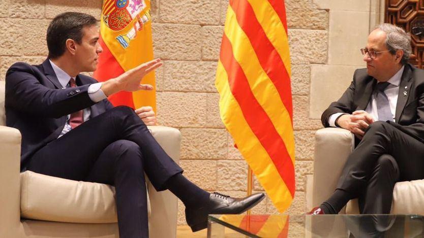 Las claves de la 'Agenda para el Reencuentro' que Sánchez ha presentado a Torra