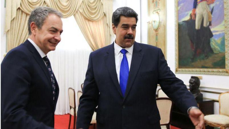 La polémica por la inesperada visita de Zapatero a Maduro