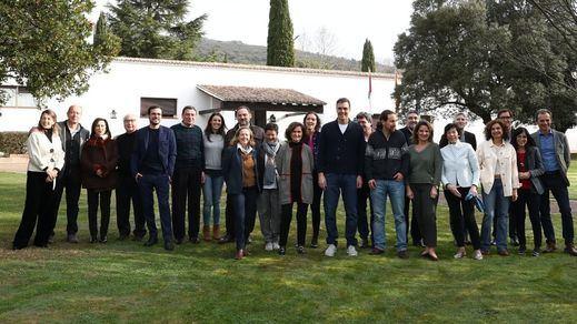 Primera convivencia del Gobierno de coalición: Sánchez reúne a sus ministros en Toledo