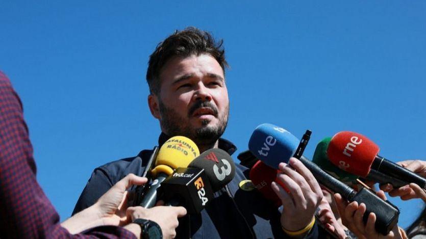 El 'recadito' de Rufián a Torra por su anuncio de adelanto electoral en Cataluña