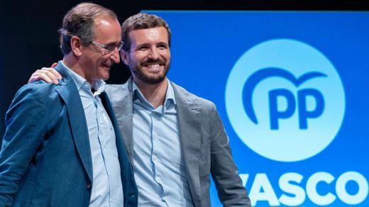 Alfonso Alonso se salva como candidato del PP vasco, por ahora…