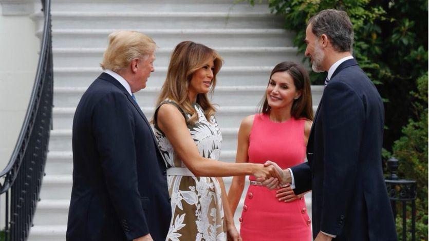 Los Reyes volverán a reunirse con Donald Trump en abril