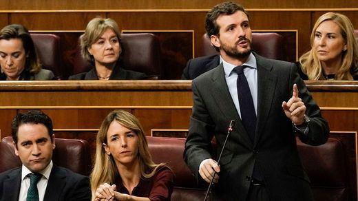 Los mejores momentos de la primera sesión de control al nuevo Gobierno