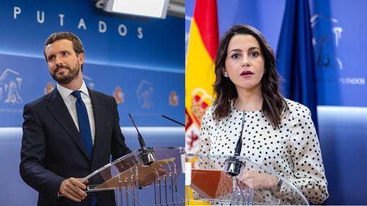Dos versiones y posiciones alejadas: el fracaso de la primera reunión de PP y Cs