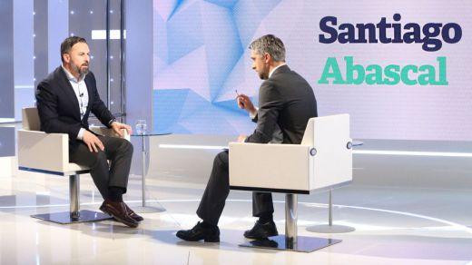 Abascal, en su controvertida entrevista en TVE: defendió expulsar a los inmigrantes ilegales