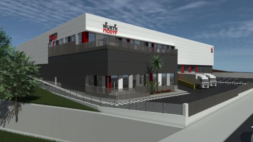 Iberdrola Inmobiliaria promueve un proyecto llave en mano para Würth MODYF en Barcelona